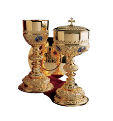 Chalice and Ciboria from Baroque Collection