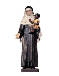St Katharine Drexel with Child Statue 36""