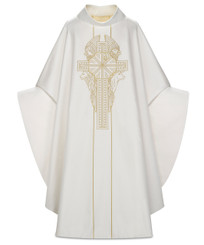 """""""Four Evangelists"""" Gothic Chasuble in Sentia Fabric"""