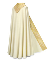 Cope in Cantate fabric with Gold Embroidery