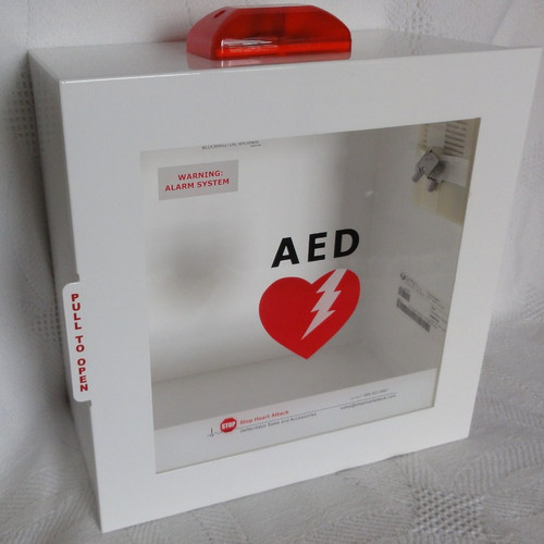 AED -JL-Wall Cabinet: Surface Mount with Alarm & Strobe ...