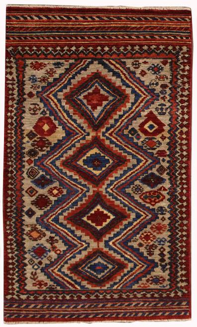 3u0027 X 5u00271 Afghan Tribal Rug