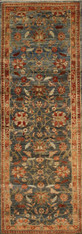 hand knotted runner rug