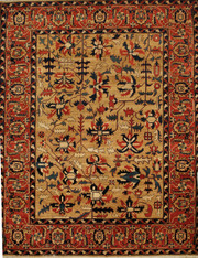 room size traditional rug