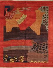 8' x 10' Handmade modern Rug