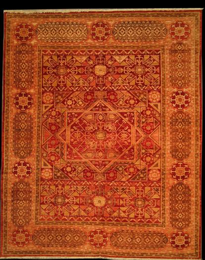 """8' x 9'10"""" afghan rug - homa rugs"""