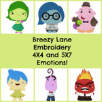 Emotions Machine Embroidery Designs 4X4 & 5X7
