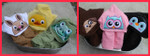 Animal Toppers Part 1, Perfect for Hooded Towels MACHINE EMBROIDERY DESIGN 4X4, 5X7 & 6X10