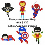 Action Superhero Set