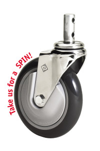 "R&B 5"" Mega Caster cart wheels"