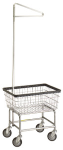 R&B #100E:  Laundry Cart w/single pole hanger