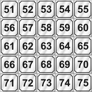 Vend-Rite Washer ID #'s 51-75