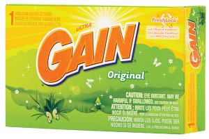 Gain Powder Laundry Detergent - Coin Vend