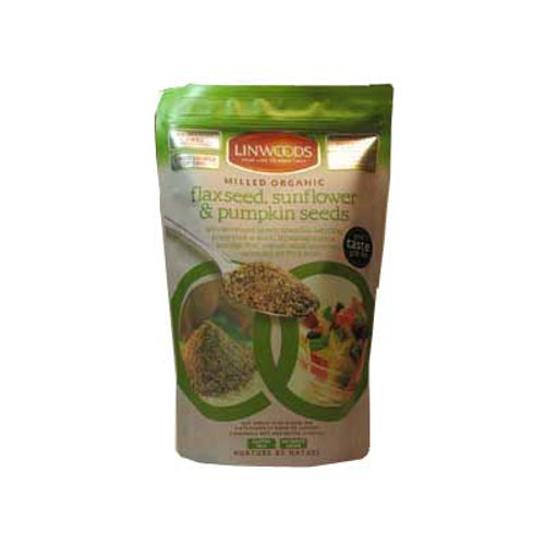 Milled Organic Flax, Sunflower & Pumpkin Seeds 425g