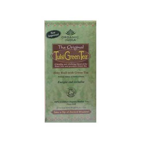 Organic Tulsi Green tea - 25 bags