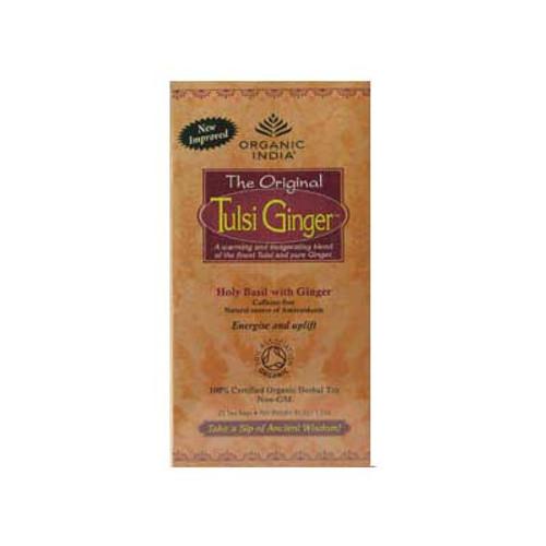 Organic Tulsi Ginger Tea - 25 bags