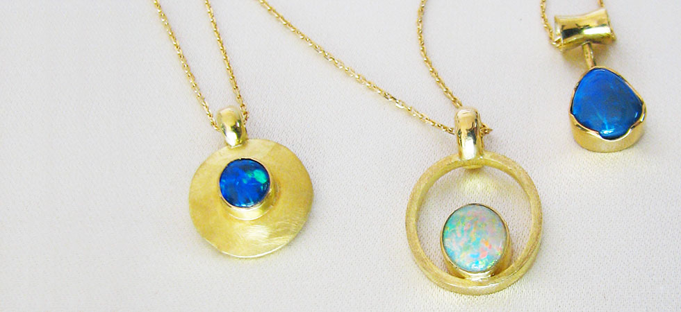 Lost Sea Opals- Pendants