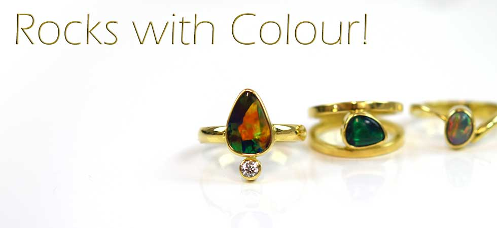 Rocks with Colour - Lost Sea Opals