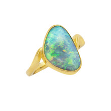 Lost Sea Opals - 18k Gold Ring