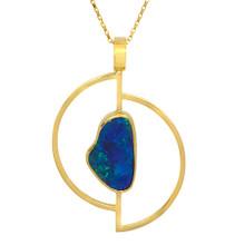 Black opal pendant- Lost Sea Opals
