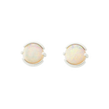 Light opal earrings - Lost Sea Jewels