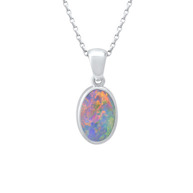 Light Opal - Lost Sea Opals 18k White gold