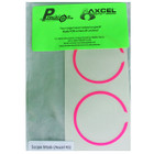 Axcel X-41 Scope - Precision Archery Reticles - Scope Ring Mask - Pink