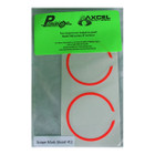 Axcel X-41 Scope - Precision Archery Reticles - Scope Ring Mask - Red