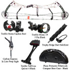 Bear Anarchy HC Compound Bow Deluxe Package LH 28/60 Realtree AP Snow