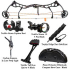 Bear Anarchy HC Compound Bow Deluxe Package LH 28/60 Shadow