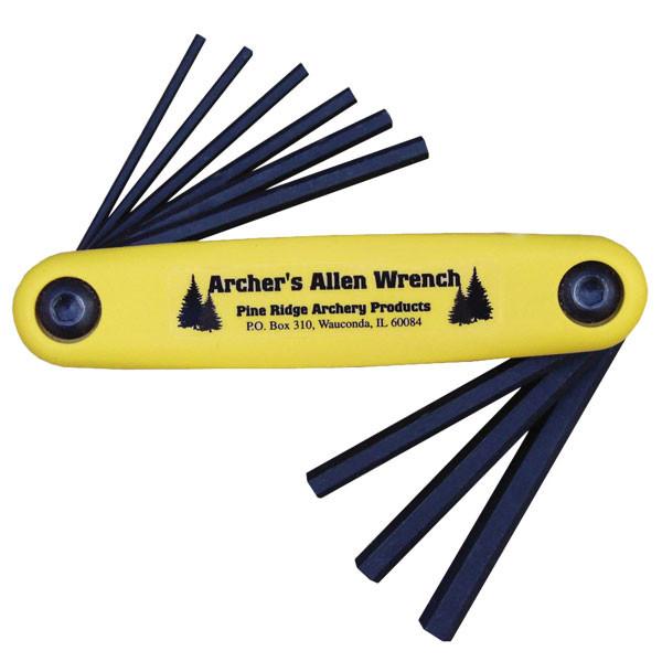 Pine Ridge Archery Archers Allen Wrench Set #02521 9pc XL