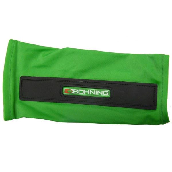 Bohning Neon Green Slip-On Armguard Medium