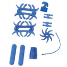 PSE Colored Rubber Set BLUE