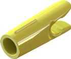 Gold Tip Pin Nock 1 Dozen Yellow
