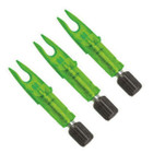 Carbon Express LAUNCH PAD PRECISION LIGHTED NOCK 3 PK Green