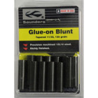 Saunders Tapered Glue-On Blunt Points 12 pk. 11/32 125gr
