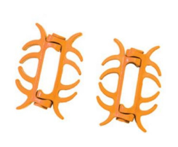 PSE Colored Limb Bands Bow Silencers (2 Pack) Orange