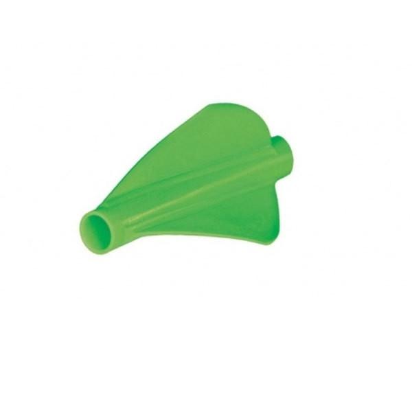 Bohning Blazer Archery Arrow Stretch Fletch, 6 Pack Neon Green
