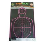 TruGlo Tru-See Handgun Target 12X18 6 Pack Pink