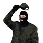 Primos Stretch-Fit Face Mask Black,Full-Hood