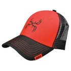 Hoyt Black & Red Spyder Logo Cap