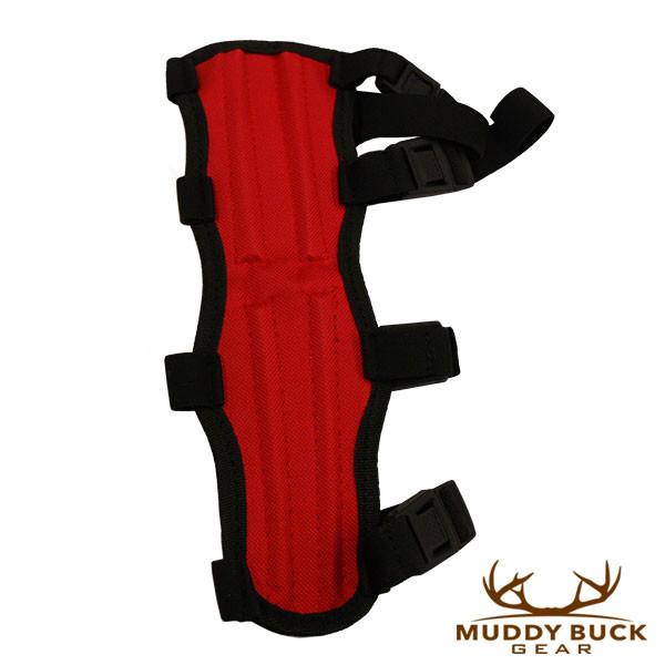 Muddy Buck Gear 4 Strap Codura Arm Guard Red