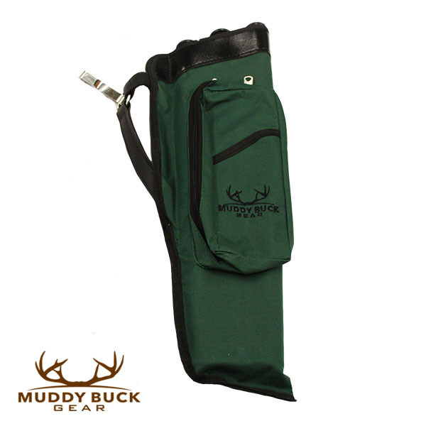Muddy Buck Gear 3 Tube Codura Quiver Hunter Green