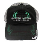 Bowhunters Supply Store Black/Grey Mesh Hat