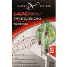CARBON EXPRESS LAUNCH PAD LIGHTED NOCK (GREEN) CARBON XBOLT