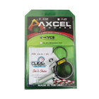 Axcel X-31 Scope w/ Doc's Choice 1-3/8 dia 4X Lens Combo - YCS - Silver