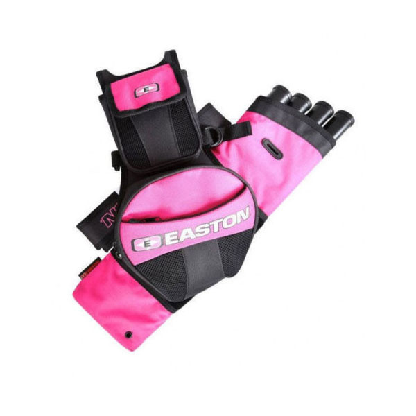Easton Flipside 4-Tube Hip Quiver Pink