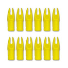 CARBON EXPRESS CXL NOCK FLO YELLOW 12PK