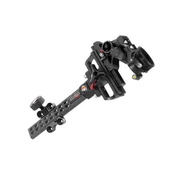 Axcel AccuTouch Carbon Pro Slider Sight  w/ X-31 Scope .010 Blue Fiber