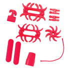 PSE Colored Rubber Set RED